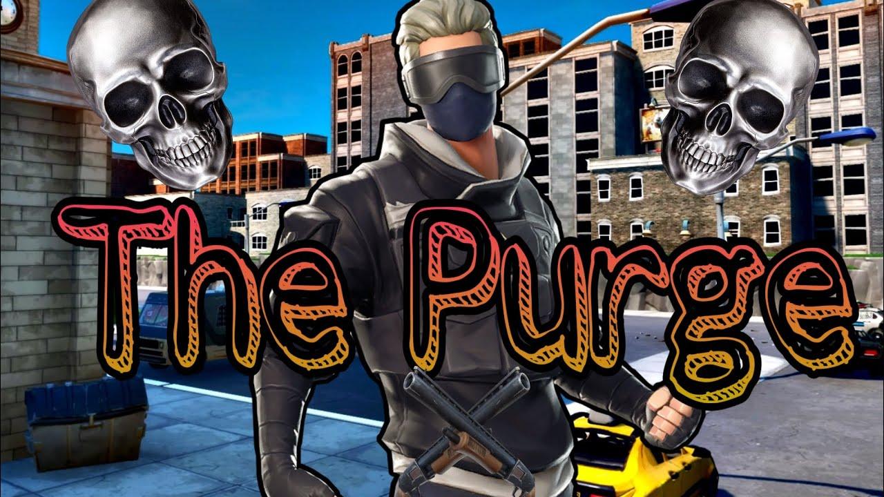 (Fortnite Roleplay) The Purge // A New Start (Fortnite skit) (Short Film)
