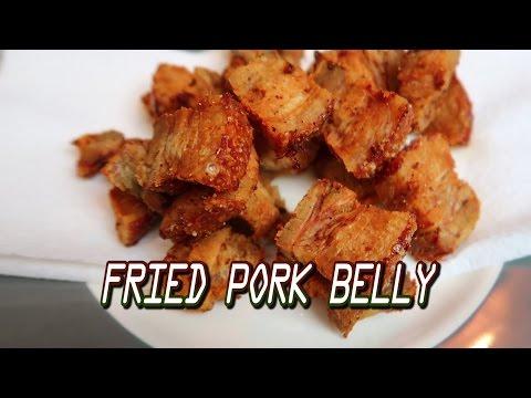 Easy Fried Pork Belly