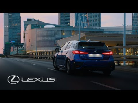 Lexus CT F Sport 2018 | Say yes to the city