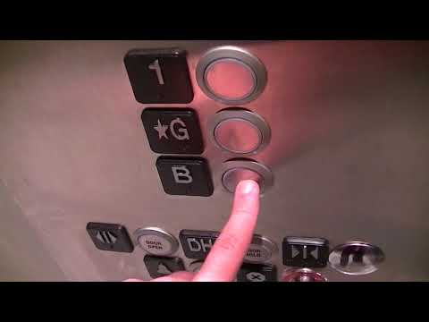 Kone EcoSpace MRL Traction Elevator @ Bloor/Gladstone Library - Historic Wing, Toronto ON