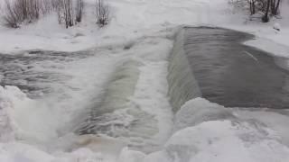 Зимний водопад! / Winter waterfall!