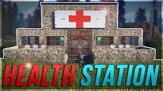 Health Station turns out HECTIC! - Rust Hospital Shop