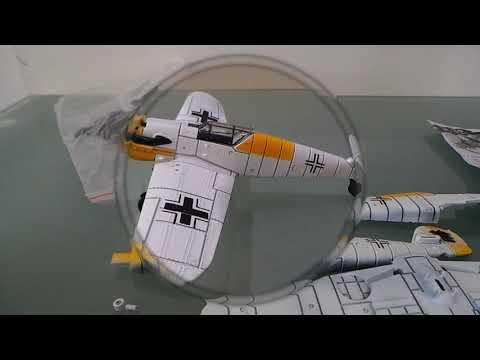 Сборная модель немецкого истребителя без клея с AliExpress