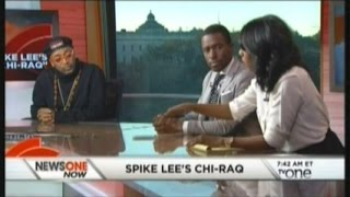 Legal Analyst Yodit Tewolde speaking with Spike Lee