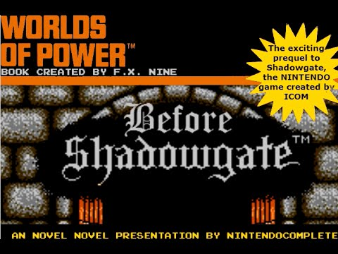 Worlds of Power: Before Shadowgate (NES Visual Novel) - NintendoComplete