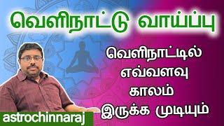வெளிநாட்டில் எவ்வளவு காலம் | Astrology Classes In Tamil | Astrologer Chinnaraj | Astrology In Tamil