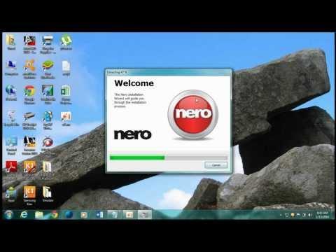 Installing Nero 2014 Full Version