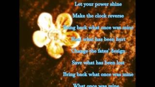 Healing Incantation by Mandy Moore (w/ lyrics) From Disney