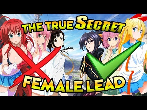 Picking The Top 30 Best Harem Anime Girls Accurately