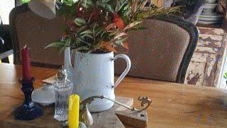 시골작은집일상 Vlog | 아침 남천열매와 잎을 절화해…