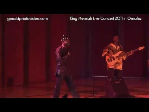 King mensah au Japon à omaha live exclusive
