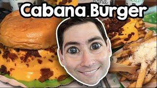 🍔 Cabana Burger: É MUITO Cheddar!!!!!!!! 🍔