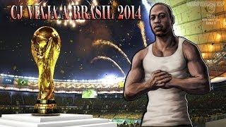 CJ SE GANA UN VIAJE AL MUNDIAL BRASIL 2014 | GTA SA