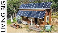 $10,000 Off-The-Grid Tiny House With HUGE Solar System