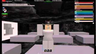 Scary and creepy game on roblox