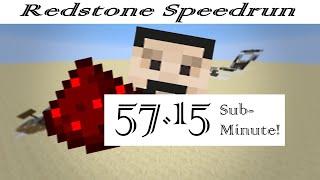 Mumbo Jumbo's Redstone Speedrun World Record- 57.15