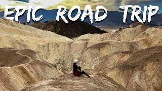 EPIC ROAD TRIP | 1700 miles, 5days, 3 States | West Coast Highlight