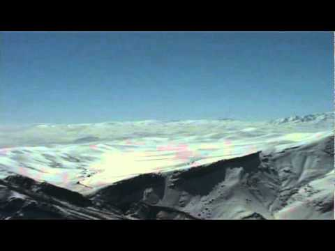 Urmia Azerbaijan, Iran  and turkey border Backcountry snowboarding
