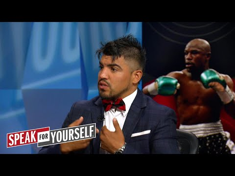 Victor Ortiz says McGregor's higher weight won't affect Floyd Mayweather   SPEAK FOR YOURSELF