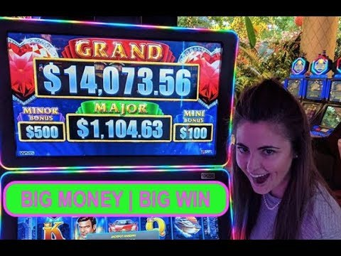 BIG WIN - LOCK IT LINK - HIGH LIMIT SLOTS - BONUS GAME - $10 BET - VEGAS - CASINO