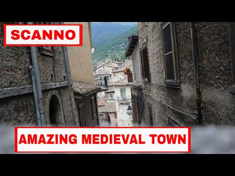 ABRUZZO ITALY | The ANCIENT TOWN OF SCANNO and the 96 YEAR OLD SIGNORA