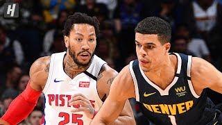 Detroit Pistons vs Denver Nuggets - Full Game Highlights   February 25, 2020   2019-20 NBA Season
