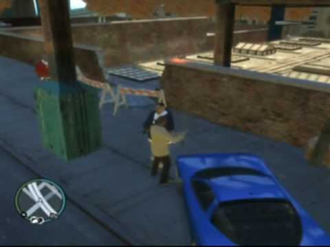 cleaning up the hood... dawg GTA IV