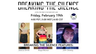 Breaking the Silence: LGBTQ2 Survivors of Violence