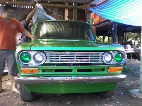 Datsun 521 1969 Lamphun Retro Garage Fraudulent Fu*k
