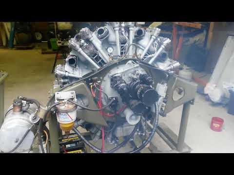 Guiberson Diesel Radial Engine