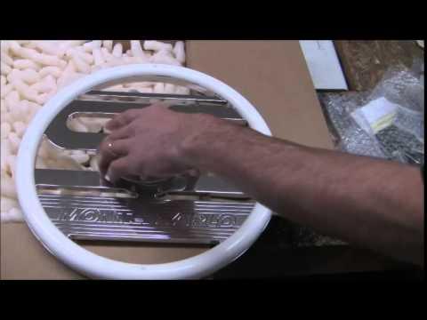Ss Monte Carlo >> 1987 Monte Carlo SS white dash gauges & custom billet steering wheel - YouTube