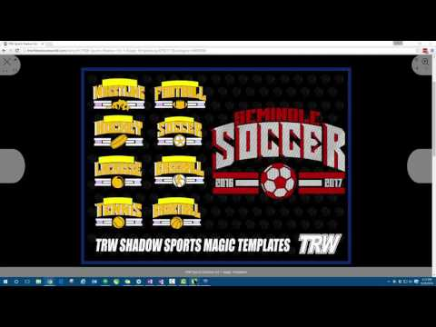 Learning the basics when working with Magic Templates in the TRW Design Wizard™
