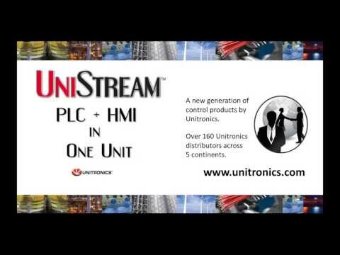 Introducing UniStream: PLC + HMI All-in-One Controller by