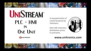 Introducing UniStream: PLC + HMI All-in-One Controller by Unitronics