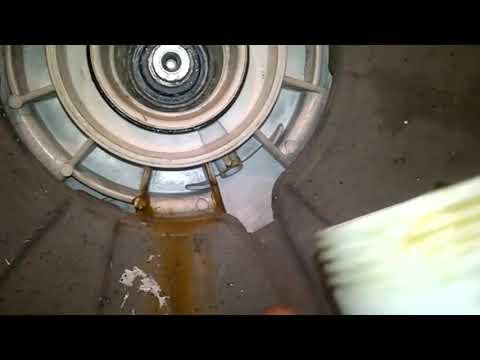 Заменить блок подшипника на стиральной машине Zanussi или Electrolux