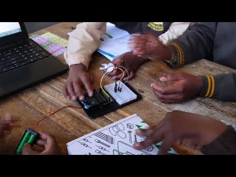 AFP news agency: S.Africa coding clubs plug township youth into future