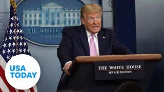 President Trump and task force update on coronavirus pandemic | USA TODAY