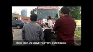 THE CRY 2012 TORONTO - Prayer Journey July 28 2012 , CRYING FOR OUR NATION