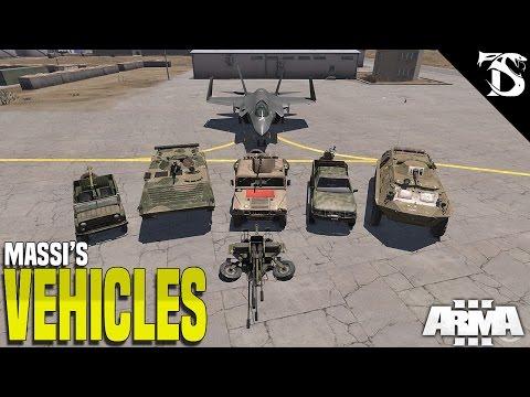 Massi Vehicles | Arma 3 Mod Showcase - Video - ViLOOK