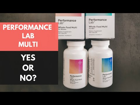 Performance Lab Whole-Food Multi Review: Should You Take It?