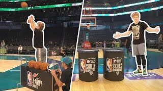 playing-in-the-official-nba-all-star-skills-challenge-3pt-contest-2019
