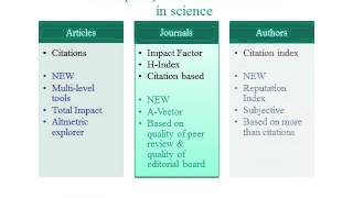 A vector a new tool for Quality assessment of open access journals  Tom Olijhoek