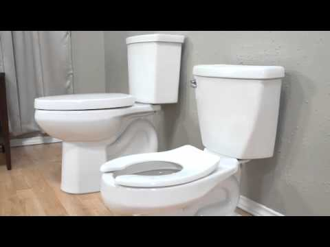 Baby Devoro Flowise 10 Inch High Toilet By American