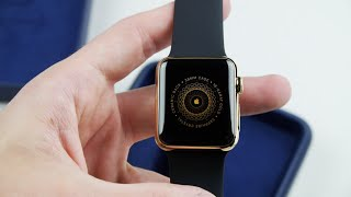 18-Karat Gold Apple Watch Edition Unboxing!