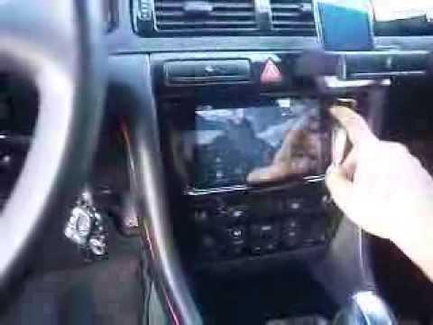 Audi A6 C5 Tablet Namiesto Radia Youtube