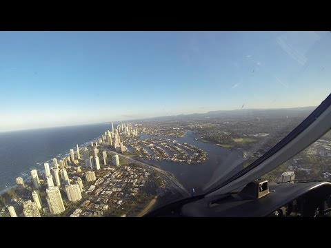Flying Over The Gold Coast - Helicopter Tour (Sea World - Surfers Paradise - Broadbeach, Queensland)