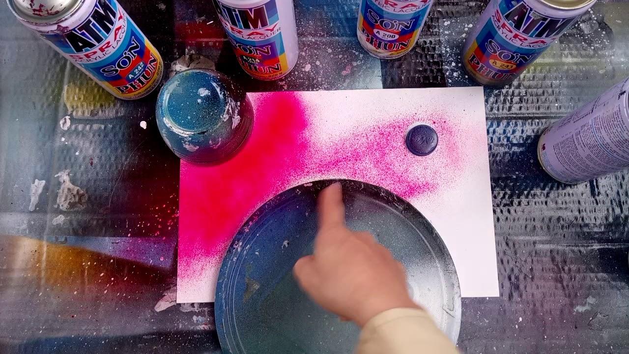 Hướng dẫn vẽ tranh phun sơn [tập 1]