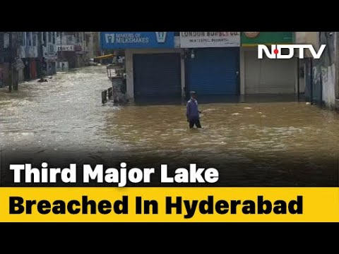 Hyderabad Rain: Hyderabad Battered By Heavy Rain; Flooding In Several Areas