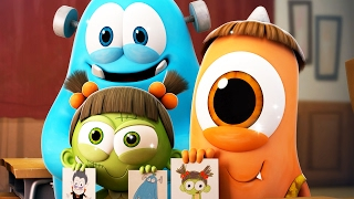 Funny Animated Cartoon | Spookiz Season 1 - Kong Kong's Amulet | 스푸키즈 | Cartoon for Kids