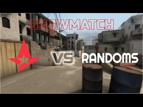 CS:GO  Astralis Vs Randoms - Showmatch